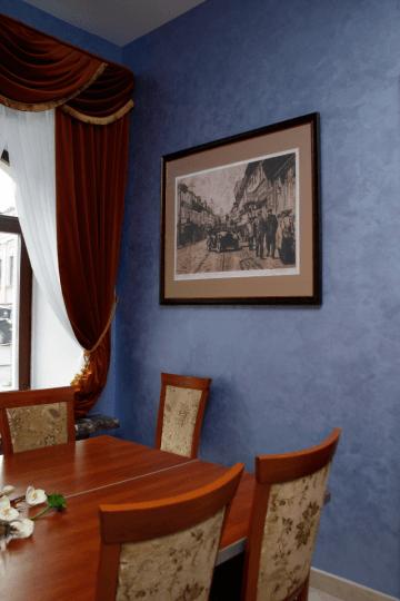Интерьер гостиницы «Гарни»