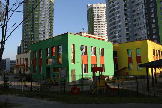 Детский сад в жилом комплексе Каскад