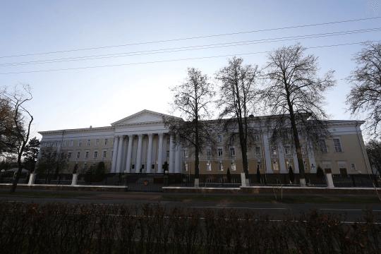 Здание министерства обороны в Минске